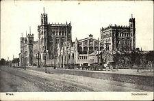Wien Österreich ~1910 Nordbahnhof Praterstern Bahnhof Kutschen Bauwerk Gebäude