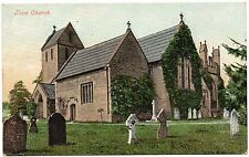 P.C Church Of The Holy Cross Ilam Near Ashbourne Staffordshire Excellent Cond