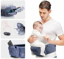 Baby Carrier Hip Seat Foldable 0-36 Months Newborn Toddler Safe Quality Hold...
