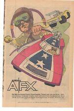 AURORA Factory Experimentals A/FX Cars 1973 Advertisement