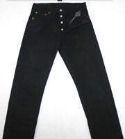 LEVI'S 501 jean femme NOIR  MADE IN UK  NEUF  taille haute   W 29 L 32