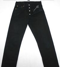 LEVI'S 501 jean femme NOIR    NEUF  taille haute   W 28 L 32