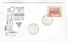 Italy 1970  FDC  400th Anniversary Death of Tatti il Sansovino - first day cover