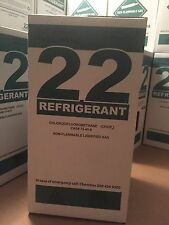 R22 Refrigerant Sealed Virgin New 10 Pound Cylinder Made in the USA