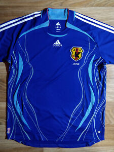 Adidas Japan National Team Home JFA Mens Home Jersey Shirt Soccer Football 2005