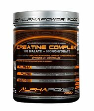 Tri Creatin malato complex 300g (56,33 €/1kg) - Alpha Power Food