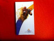 2011 MORNINGTON  RACING  CLUB AFL GRAND FINAL RACE DAY OFFICIAL RACE BOOK 1 OCT