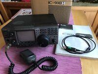 ICOM IC-910H VHF/UHF Transceiver