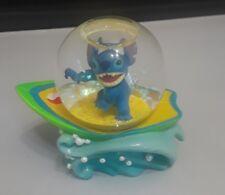 Disney Stitch Mini Snowglobe Surfing Store Exclusive Riding A Wave Lilo & Stitch