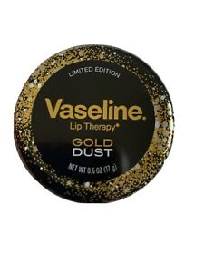 VASELINE LIP THERAPY - GOLD DUST SHIMMERING LIMITED EDITION...- 20G - Brand New