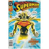 Superman: The Man of Steel #28 in Near Mint + condition. DC comics [*h6]