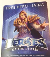 Heroes of the Storm (JUST FREE HERO - JAINA ONLY)(NOT THE GAME) #114