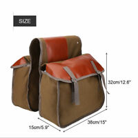 Bicycle Rear Seat Bag Mountain Bike Cycling Travel Pannier Pack Accessories AM