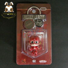 "Hot Toys Cosbaby 1.5"" Bobble-Head - Justice League: The Flash_ Keychain _HT343A"