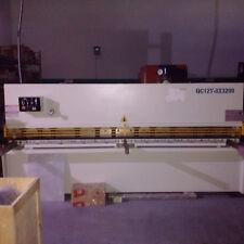 Shear Machine Hydraulic L126 3200mm For 0314 8mm Thickness Metal