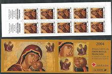2004 FRANCIA LIBRETTO PRO CROCE ROSSA NATALE MNH ** - G