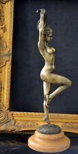 erotischer Bronze Akt signiert Bronzefiguren Bronzeskulpturen Bronze Skulptur
