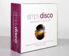 SIMPLY DISCO [4 CD'S OF ESSENTIAL LOOR-FILLING FAVOURITES / 2008] 698458246028