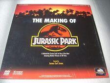 THE MAKING OF JURASSIC PARK  USA Laserdisc