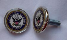 US Navy insignia license plate bolts, made in America!