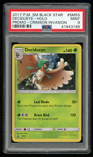 2017 Pokemon SM Black Star Promo SM55 Decidueye-Holo-PSA 9 MINT-Crimson Invasion