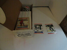SCORE - 1990 91  HOCKEY CARD SET - COMPLETE 440 CARDS + 2 ERROR CARDS -  NM/M EC