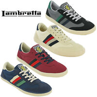 Lambretta MOD Trainers Canvas Mens Lace Up Cushioned Vulcan Shoes UK 7 - 12