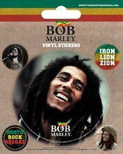 Bob Marley bob marley + 4 mini 2014 - V 00004000 Inyl Stickers Set official merchandise