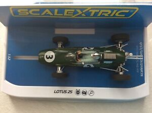 Scalextric C4083 lotus 25 Jack Brabham Monaco 1963 World championships