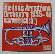 LOUIS ARMSTRONG A Chronological Study...Vol. 5 Swaggie Rec. 705 AU M SEALED 3A