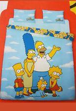 The Simpsons Duvet Cover King Reversible Set & Two Pillow Cases 230cm x 220cm
