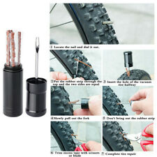 Bicycle Tire Rubber Strip Tire Repair Drill Puncture Repair Kit fr Tubeless Tire