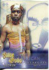 Stargate SG1 Season 5 False Gods Acetate Chase Card F9