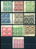 USAstamps Unused VF US Rotary Printings Plate block Set Scott 692-701 OG MH