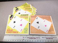 Blackstone Jr magician 1960s Jiffy Pop popcorn premium card trick (1 example)
