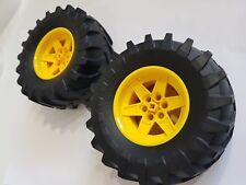 Lego Tractor Wheel - (15038 / 23798, 15038c05) x 2