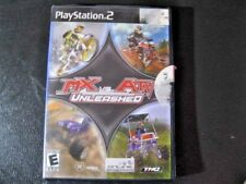 MX vs. ATV Unleashed (Sony PlayStation 2, 2005) Case, Manual & Game Disc