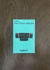 Logitech C922X Pro Stream Webcam - Black FAST SHIPPING