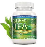 Green Tea Extra Strength 10000mg 95% Polyphenols 90 Capsules Evolution Slimming
