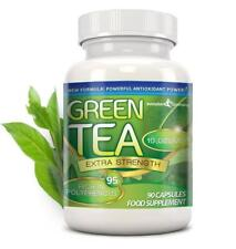 Green Tea Extra Strength 10000mg 95% Polyphenols 90 Capsules Evolution Slimming