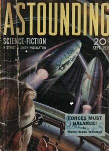 1939 Astounding Science-Fiction September - Theodore Sturgeon 1st sci-fi; Ether