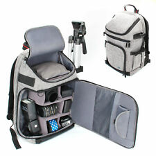 DSLR/SLR Camera Backpack with Laptop Compartment , Rain Cover & Lens Storage