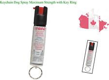 Keychain Dog Spray Maximum Strength with Key Ring