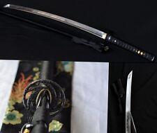 Hand Forge Japanese Ninja Sect Shrine Samurai Sword Katana T10 Steel Razor Sharp