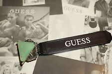 NWT Guess SIlver Metal Triangle Shaped RIng, Stretch Size