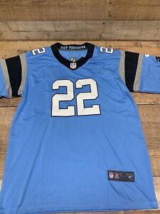 Christian McCaffrey #22 Carolina Panthers Nike Jersey Sz M *NWT* Blue