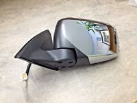 NSF LH CHROME ELECTRIC WING MIRROR for MITSUBISHI L200 2.5 DID KB4T 2006-2016