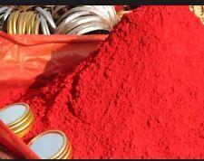 1 pound of Pintura de santo, Powdered Paint -Red- santeria, palo, ifa, voodoo