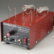 230v Int'l version Mastercarver Burnmaster Eagle woodburner+pens+tips+bag