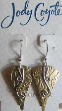 Jody Coyote Earrings JC0702 new hypoallergenic Solstice QG011 silver gold